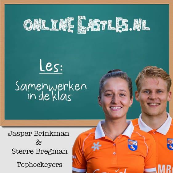 Jasper Brinkman en Sterre Bregman